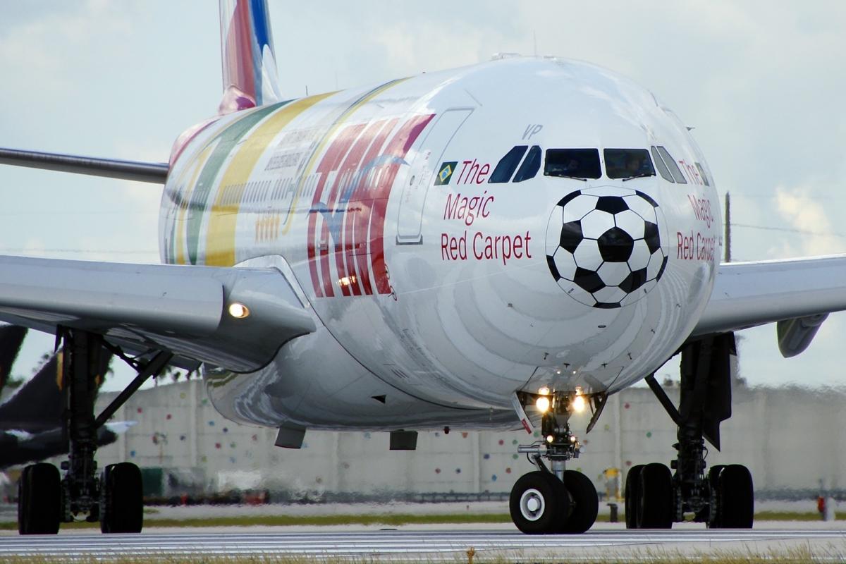 TAM Airlines calcio aerei